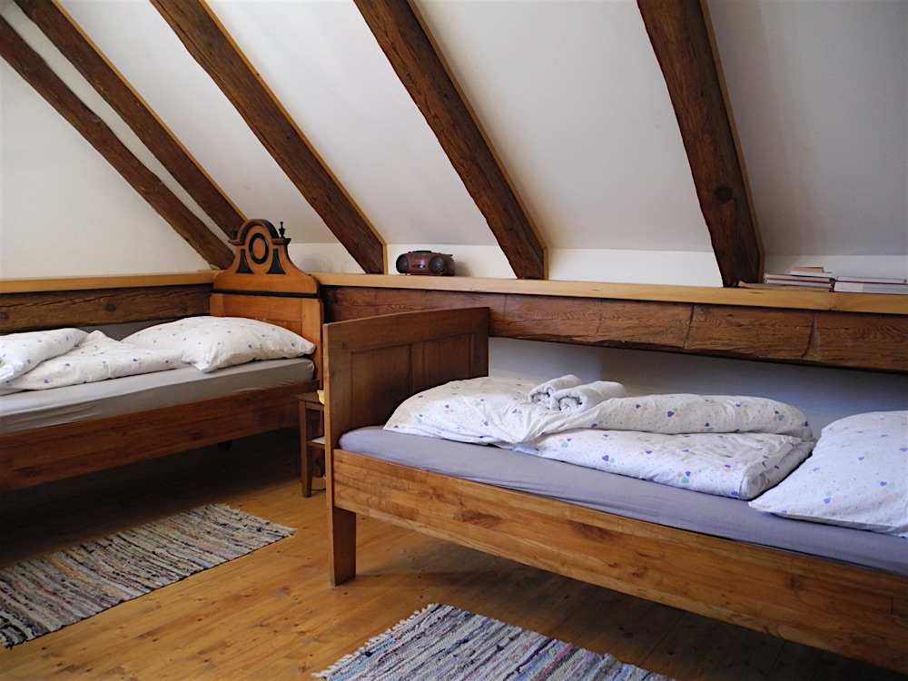 Luishaus / Kupferstich Zimmer