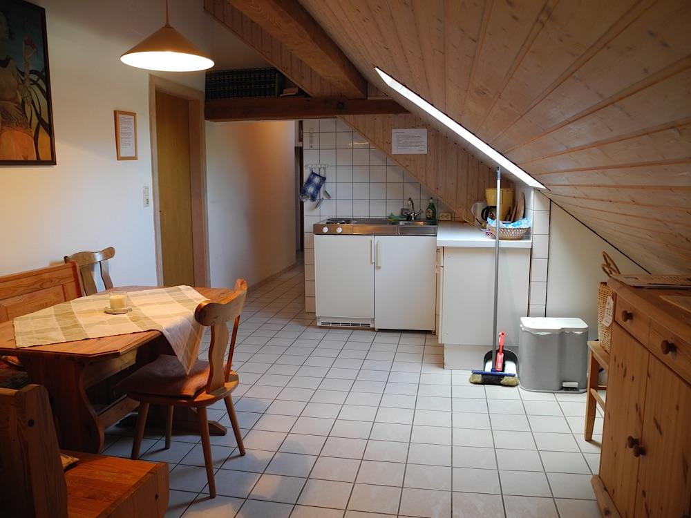 Mansarde Küche