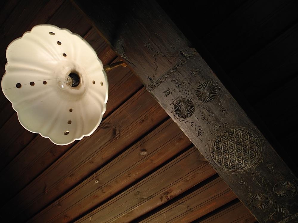 Lampe im Zweggerlhaus